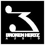 Broken Hertz Logo white